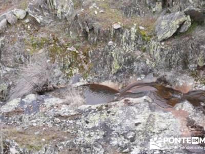 Cascadas del Aljibe;senderismo definicion;calzado para senderismo;senderos turisticos